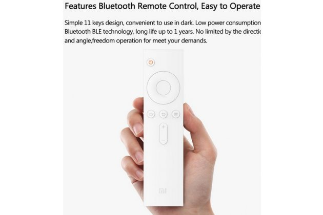 Фирменная умная беспроводная ТВ-приставка XiaoMi Mi Box Mini с переходником для нашей розетки