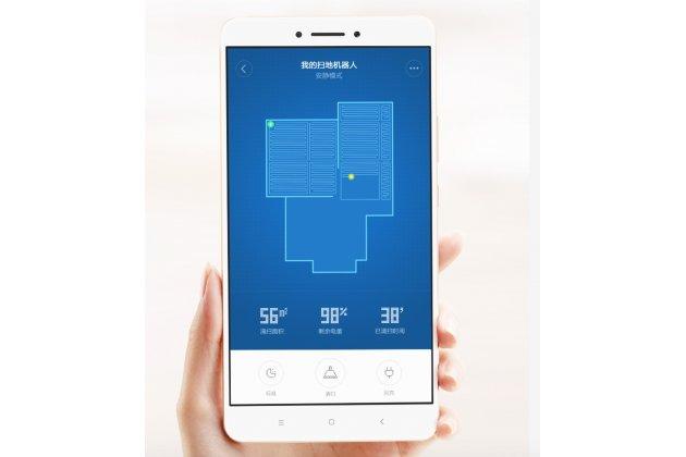 Фирменный оригинальный умный робот-пылесос Xiaomi Mi Robot Vacuum Cleaner (сухая уборка, боковые щетки, Li-Ion) + Гарантия