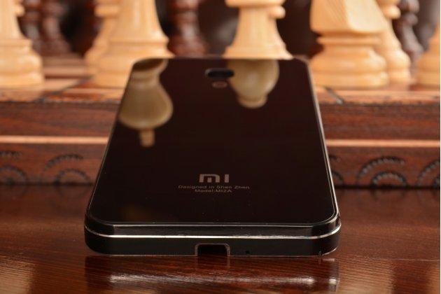 Фирменная металлическая задняя панель-крышка-накладка из тончайшего облегченного авиационного алюминия для Xiaomi Mi2A черная