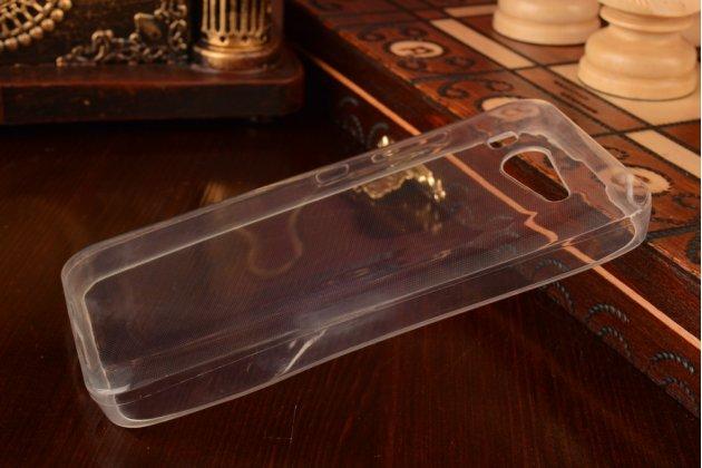 Фирменная ультра-тонкая полимерная из мягкого качественного силикона задняя панель-чехол-накладка для Xiaomi Mi2S белая