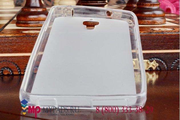 Фирменная ультра-тонкая полимерная мягкая задняя панель-чехол-накладка для Xiaomi Mi4 прозрачная