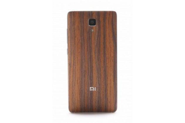 Фирменная оригинальная деревянная бамбуковая задняя панель-крышка-накладка для Xiaomi Mi4