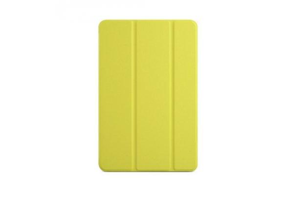 """Фирменный умный тонкий легкий чехол для Xiaomi Mipad 7.9"""" """"Il Sottile"""" желтый пластиковый"""