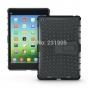 Противоударный усиленный ударопрочный фирменный чехол-бампер-пенал для Xiaomi MiPad черный..