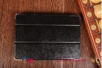 """Фирменный умный тонкий легкий чехол для Xiaomi Mipad 7.9"""" """"Il Sottile"""" черный пластиковый"""