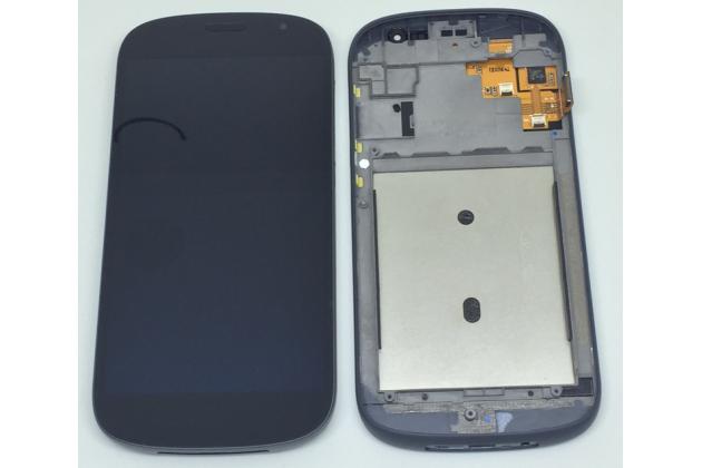 Фирменный передний LCD-ЖК-сенсорный дисплей-экран-стекло с тачскрином на телефон Yota YotaPhone 2 черный