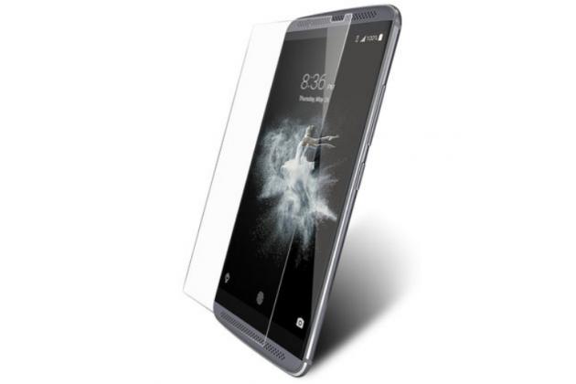 """Фирменное защитное закалённое противоударное стекло премиум-класса из качественного японского материала с олеофобным покрытием для телефона ZTE Axon 7 Mini"""""""