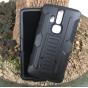Противоударный усиленный ударопрочный фирменный чехол-бампер-пенал для ZTE AXON Pro 5.5