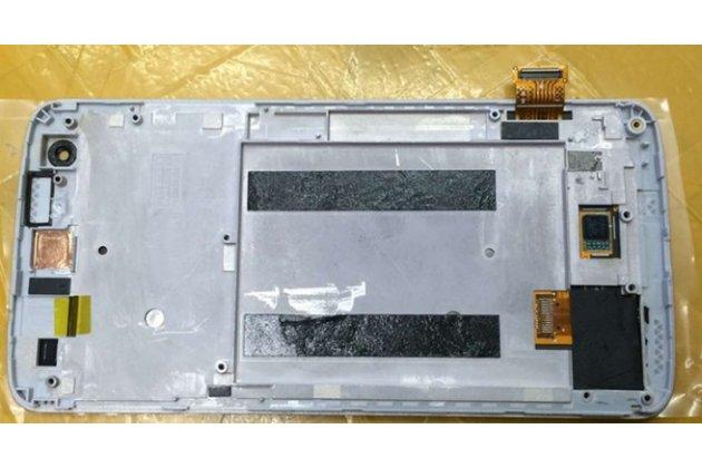 """Фирменный LCD-ЖК-сенсорный дисплей-экран-стекло с тачскрином на телефон Zte Axon Mini/Mini Premium Edition A2015/B2015 5.2""""  золотой"""