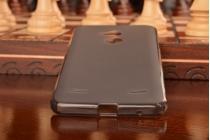 Фирменная ультра-тонкая силиконовая задняя панель-чехол-накладка для ZTE Blade A2 черная