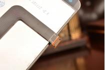 Фирменный LCD-ЖК-сенсорный дисплей-экран-стекло с тачскрином на телефон ZTE Blade A465 черный