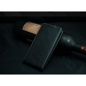 Фирменный вертикальный откидной чехол-флип для ZTE Blade A465  черный