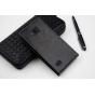 """Фирменный вертикальный откидной чехол-флип для ZTE Blade A5 / A5 Pro 4.0"""" черный"""