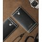 Фирменная премиальная элитная крышка-накладка на ZTE Blade A510 черная из качественного силикона с дизайном по..