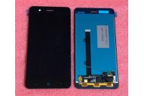 Фирменный LCD-ЖК-сенсорный дисплей-экран-стекло с тачскрином на телефон ZTE Blade A510 черный + гарантия