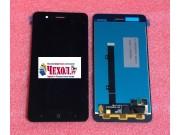 Фирменный LCD-ЖК-сенсорный дисплей-экран-стекло с тачскрином на телефон ZTE Blade A520 5.0 (BA520) черный + га..