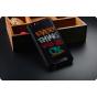 Фирменная роскошная задняя панель-чехол-накладка из мягкого силикона с объемным  3D изображением на ZTE Blade ..