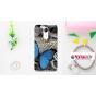 Фирменная роскошная силиконовая задняя панель-чехол-накладка с безумно красивым расписным узором на ZTE Blade ..