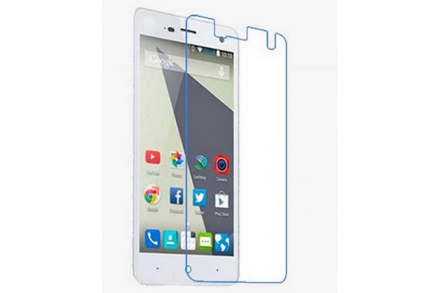 Фирменная оригинальная защитная пленка для телефона ZTE Blade L3 глянцевая