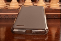 """Фирменная ультра-тонкая полимерная из мягкого качественного силикона задняя панель-чехол-накладка для ZTE Blade L4/ L4 Pro (A460) 5.0"""" черная"""