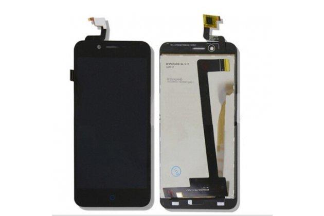 """Фирменный LCD-ЖК-сенсорный дисплей-экран-стекло с тачскрином на телефон ZTE Blade L4/ L4 Pro (A460) 5.0"""" черный"""