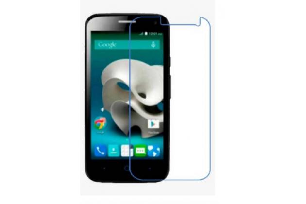 Фирменная оригинальная защитная пленка для телефона ZTE Blade Q Lux 3G/ Q Lux 4G (A430) глянцевая