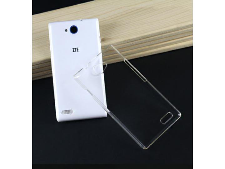 Фирменная задняя панель-крышка-накладка из тончайшего и прочного пластика для  ZTE Blade Q Lux 3G/ Q Lux 4G (A..