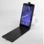 Фирменный оригинальный вертикальный откидной чехол-флип для TE Blade Q Lux 3G/ Q Lux 4G (A430) черный кожаный ..