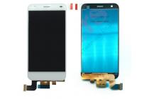 """Фирменный LCD-ЖК-сенсорный дисплей-экран-стекло с тачскрином на телефон ZTE Blade S6 /Q5 5,0"""" белый + гарантия"""