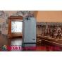 """Фирменный оригинальный вертикальный откидной чехол-флип для ZTE Blade S6 черный кожаный """"Prestige"""" Италия"""