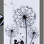 """Фирменная уникальная задняя панель-крышка-накладка из тончайшего силикона для ZTE Blade S7 5.0""""  """"тематика Одуванчик"""""""