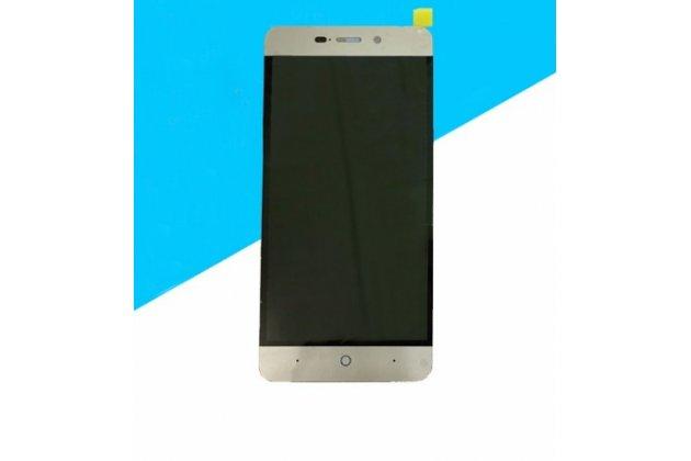 """Фирменный LCD-ЖК-сенсорный дисплей-экран-стекло с тачскрином на телефон ZTE Blade X3/ZTE Blade D2 5.0"""" черный"""