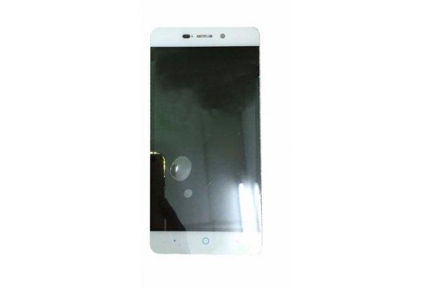"""Фирменный LCD-ЖК-сенсорный дисплей-экран-стекло с тачскрином на телефон ZTE Blade X3/ZTE Blade D2 5.0"""" белый"""