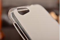 Фирменная ультра-тонкая полимерная из мягкого качественного силикона задняя панель-чехол-накладка для ZTE Blade Z10 5.2 белая