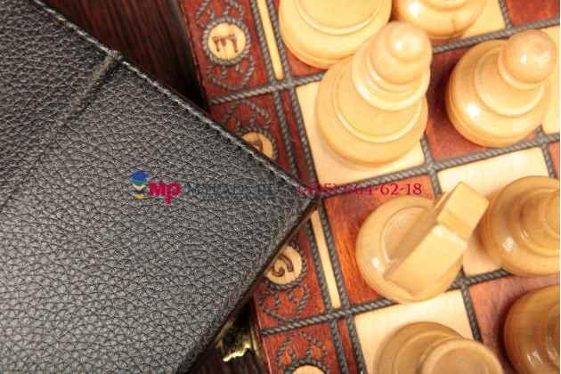 Чехол-обложка для ZTE E7 16Gb 3G кожаный цвет в ассортименте