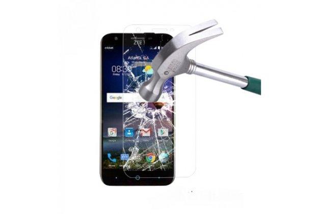 """Фирменное защитное закалённое противоударное стекло премиум-класса из качественного японского материала с олеофобным покрытием для телефона ZTE Grand X3 (Z959) 5.5"""""""