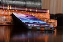 Фирменная необычная из мягкого и тонкого силикона задняя панель-чехол-накладка для  ZTE Nubia N1 5.5 тематика Сказочное небо