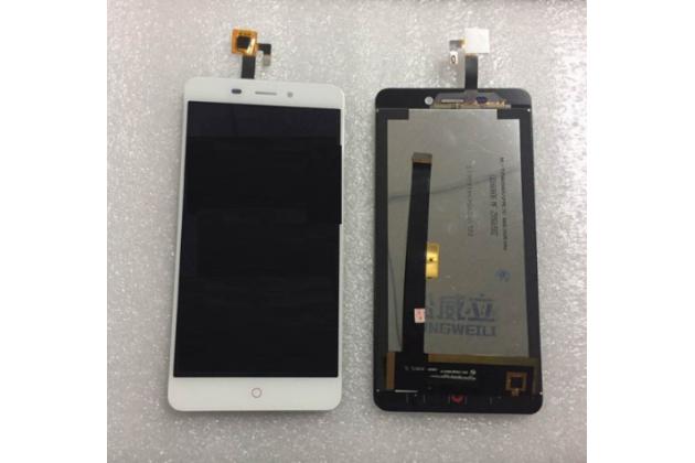 Фирменный LCD-ЖК-сенсорный дисплей-экран-стекло с тачскрином на телефон ZTE Nubia N1 белый + гарантия
