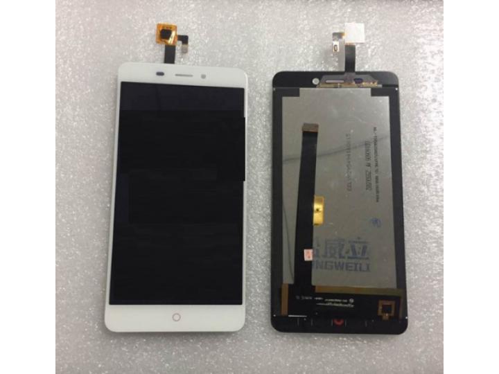 Фирменный LCD-ЖК-сенсорный дисплей-экран-стекло с тачскрином на телефон ZTE Nubia N1 белый + гарантия..
