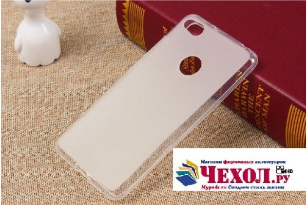 """Фирменная ультра-тонкая полимерная из мягкого качественного силикона задняя панель-чехол-накладка для ZTE Nubia Z11 Max 6.0"""" (NX523J) белая"""