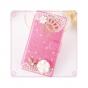 Фирменный роскошный чехол-книжка безумно красивый декорированный бусинками и кристаликами на ZTE Nubia Z7 Mini..