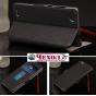 Фирменный оригинальный чехол-книжка для ZTE Nubia Z7 Mini черный кожаный с окошком для входящих вызовов и свай..