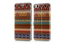 Фирменная роскошная задняя панель-чехол-накладка с безумно красивым расписным эклектичным узором на ZTE Nubia Z9 Max