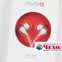 Фирменные оригинальные наушники-вкладыши ZTE ep-nx-008 с микрофоном и переключателем песен для всех моделей телефонов