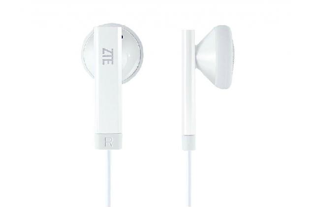 Фирменные оригинальные наушники-вкладыши ZTE SOH3505 с микрофоном и переключателем песен для всех моделей телефонов