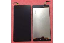 """Фирменный LCD-ЖК-сенсорный дисплей-экран-стекло с тачскрином на телефон ZTE Nubia Z9 Max 5.5"""" (NX510J) черный"""