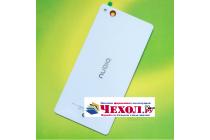 """Родная оригинальная задняя крышка-панель которая шла в комплекте для ZTE Nubia Z9 Max 5.5"""" (NX510J) белая"""