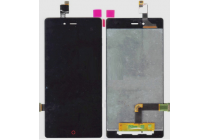 Фирменный LCD-ЖК-сенсорный дисплей-экран-стекло с тачскрином на телефон ZTE Nubia Z9 Mini 5.0 (NX511J) черный
