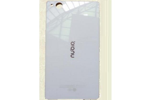 Родная оригинальная задняя крышка-панель которая шла в комплекте для ZTE Nubia Z9 Mini 5.0 (NX511J) белая