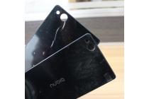 Родная оригинальная задняя крышка-панель которая шла в комплекте для ZTE Nubia Z9 Mini 5.0 (NX511J) черная